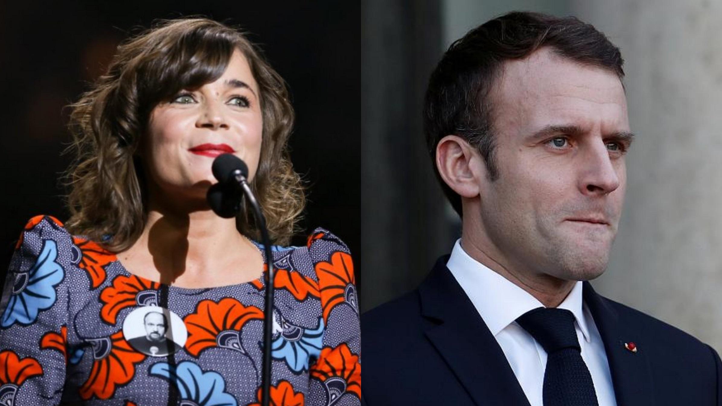 Blanche Gardin refuse d'être décorée, Julien Denormandie lui répond — SDF