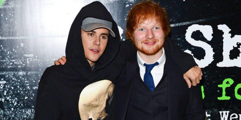 Ed Sheeran et Justin Bieber chantent l'anxiété sur leur nouveau tube
