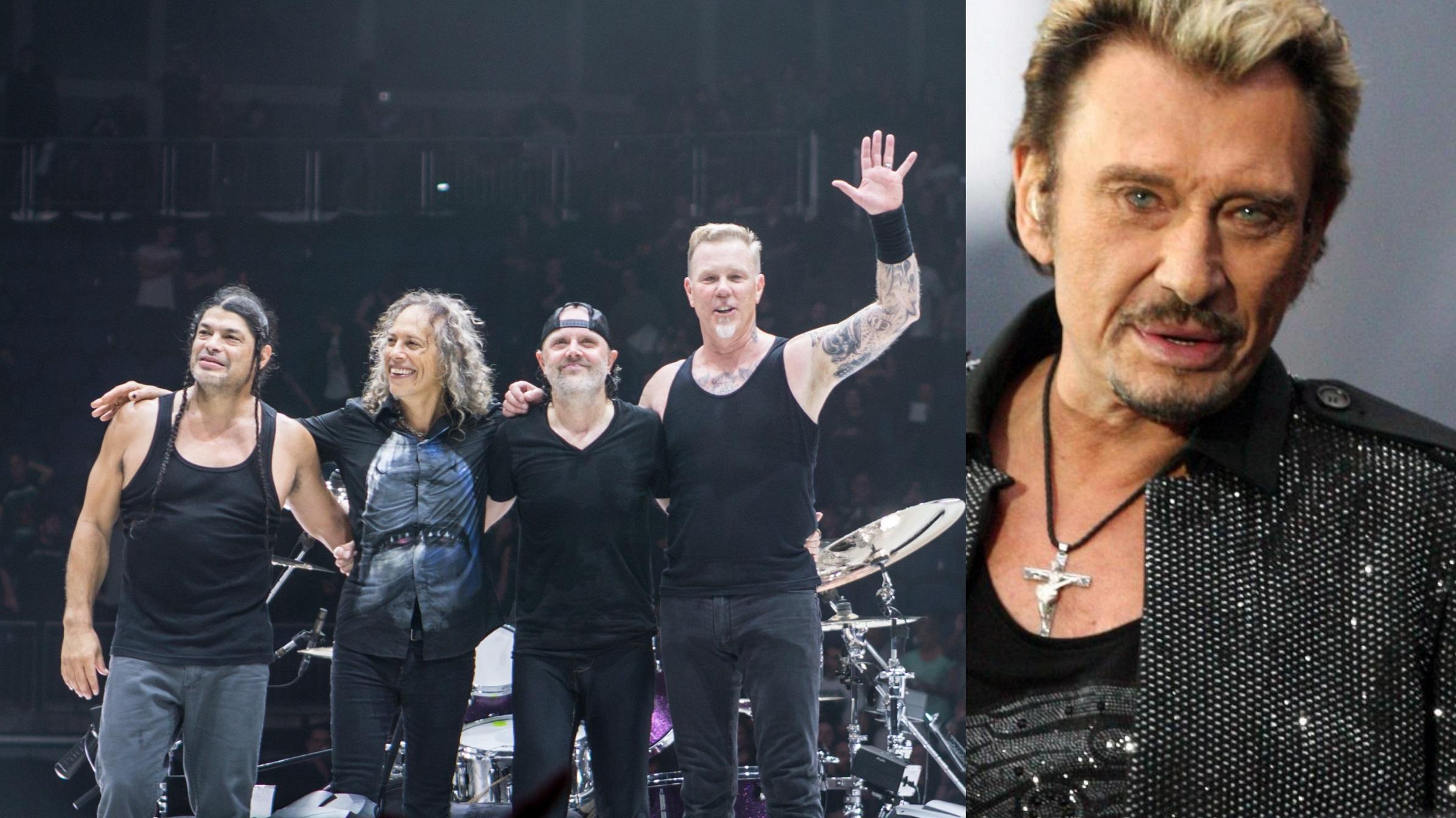 Metallica : Laeticia Hallyday émue par l'hommage à Johnny